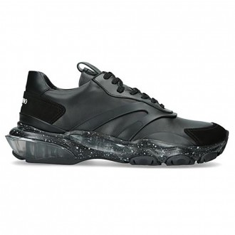 Leather Bounce Sneakers