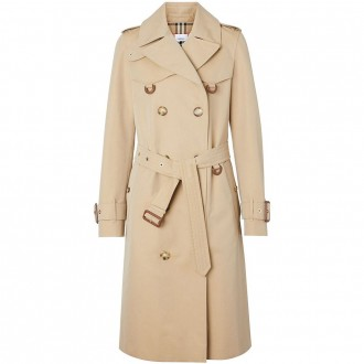 Honey Trench Coat