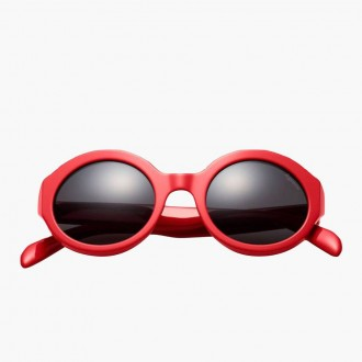 Downtown Sunglasses Red