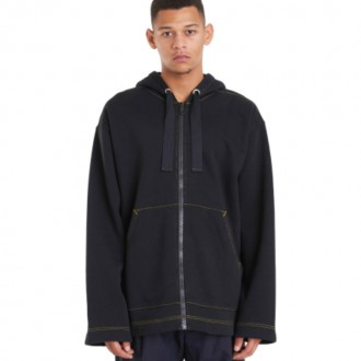 FAIRMONT ZIP SWEATSHIRT BLACK
