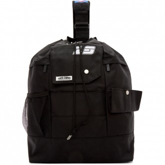 Black ASCC Single Strap Backpack