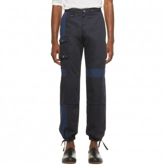 Navy 'Le Pantalon Gadjo' Workwear Trousers