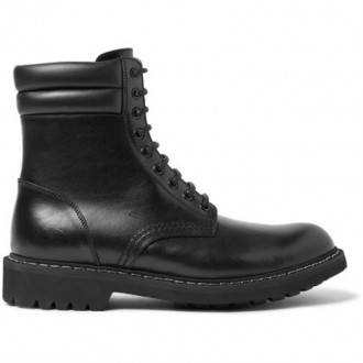 Tank Leather Boots