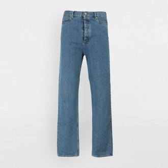 Denim Trouser With Wide Legs