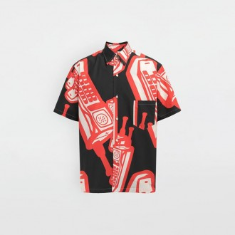 Shirt With Phone Print