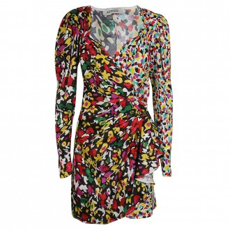 Multicolor Flower Dress