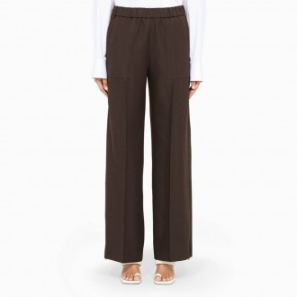 Brown Palazzo Trousers