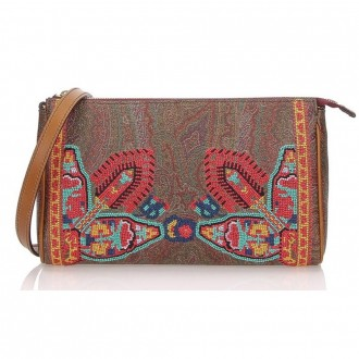 Paisley Bag With Embroidery