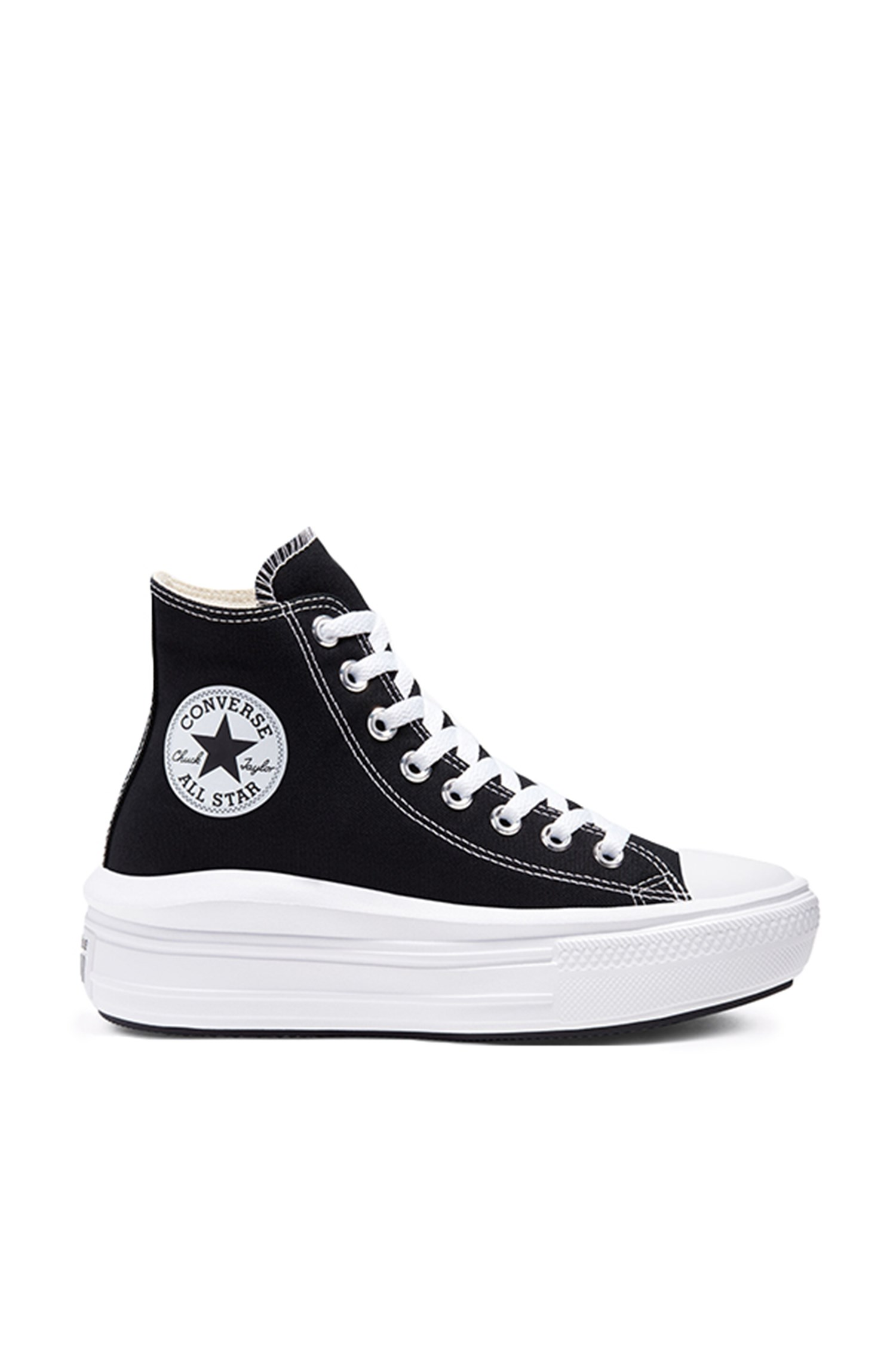 Converse Sneakers high Women Black / natural Ivory / white