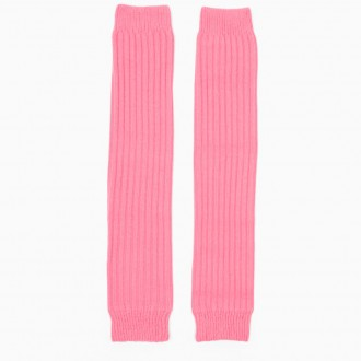 Pink Wool Blend Leg Warmers