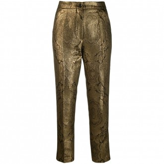 Blend Metallic Finish Trousers