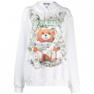 Teddy Dollar Print Sweatshirt