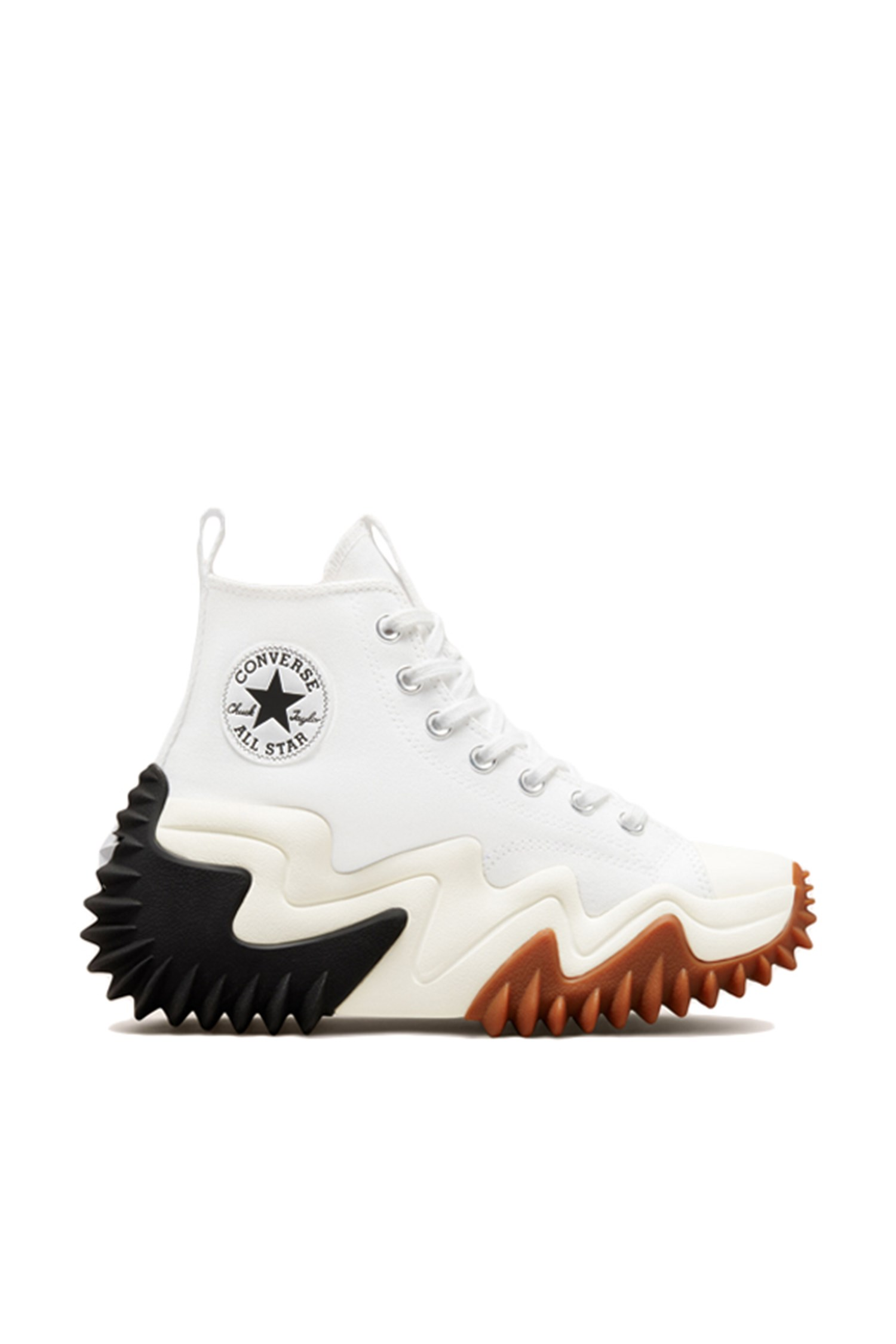 Converse Sneakers With wedge Women White / black / gum Honey