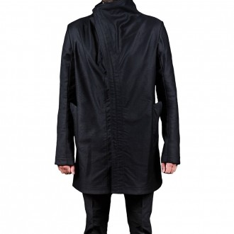 Unlined Visible Overlock Dead End Parka