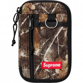 Small Zip Pouch Real Tree Camo