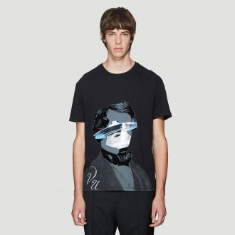 X Undercover UFO Print T-Shirt