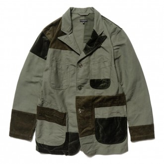 Cotton Double Cloth Bedford Jacket