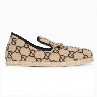 Gg Wool Loafer