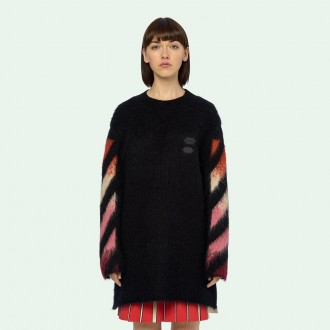 Diag Intarsia Mohair Dress