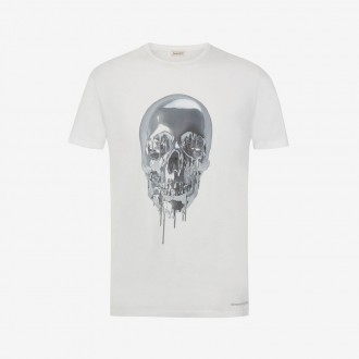 Skull Metallic T-shirt