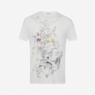 Skull Botanical T-shirt