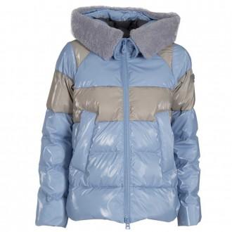 get cheap 62824 7aaaa Hayes Block Down Jacket Mv Fur Blue   SHOPenauer