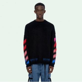Diag Brushed Knitwear