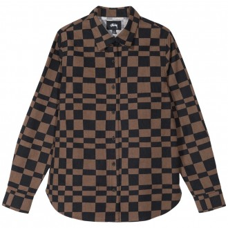 Sabi Checker Varsity Jacket