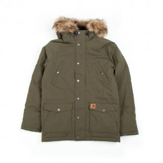 Trapper Parka (Cypress & Black)
