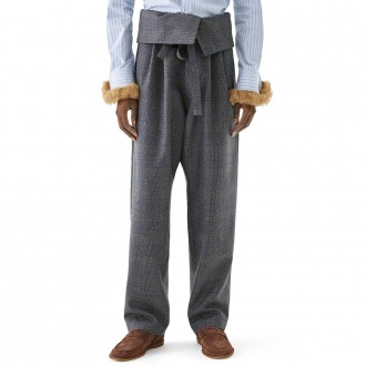 Belted Pleated Ov Trousers