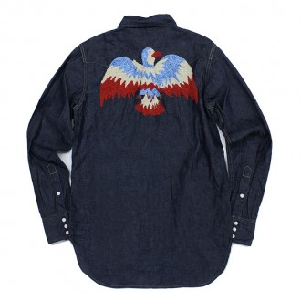 Kapital Eagle denim shirt