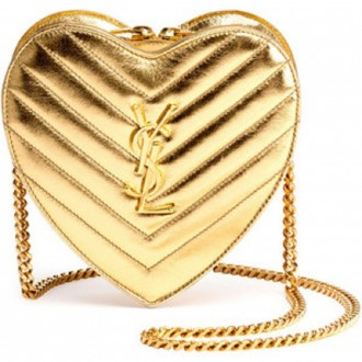 Saint Laurent Shoulder Bag Heart-shaped