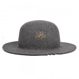 DON Paris Kaouru Torned light grey hat