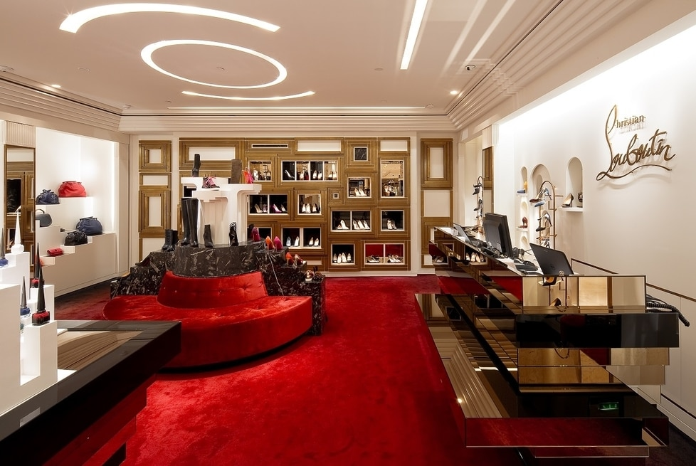 biggest louboutin store in paris